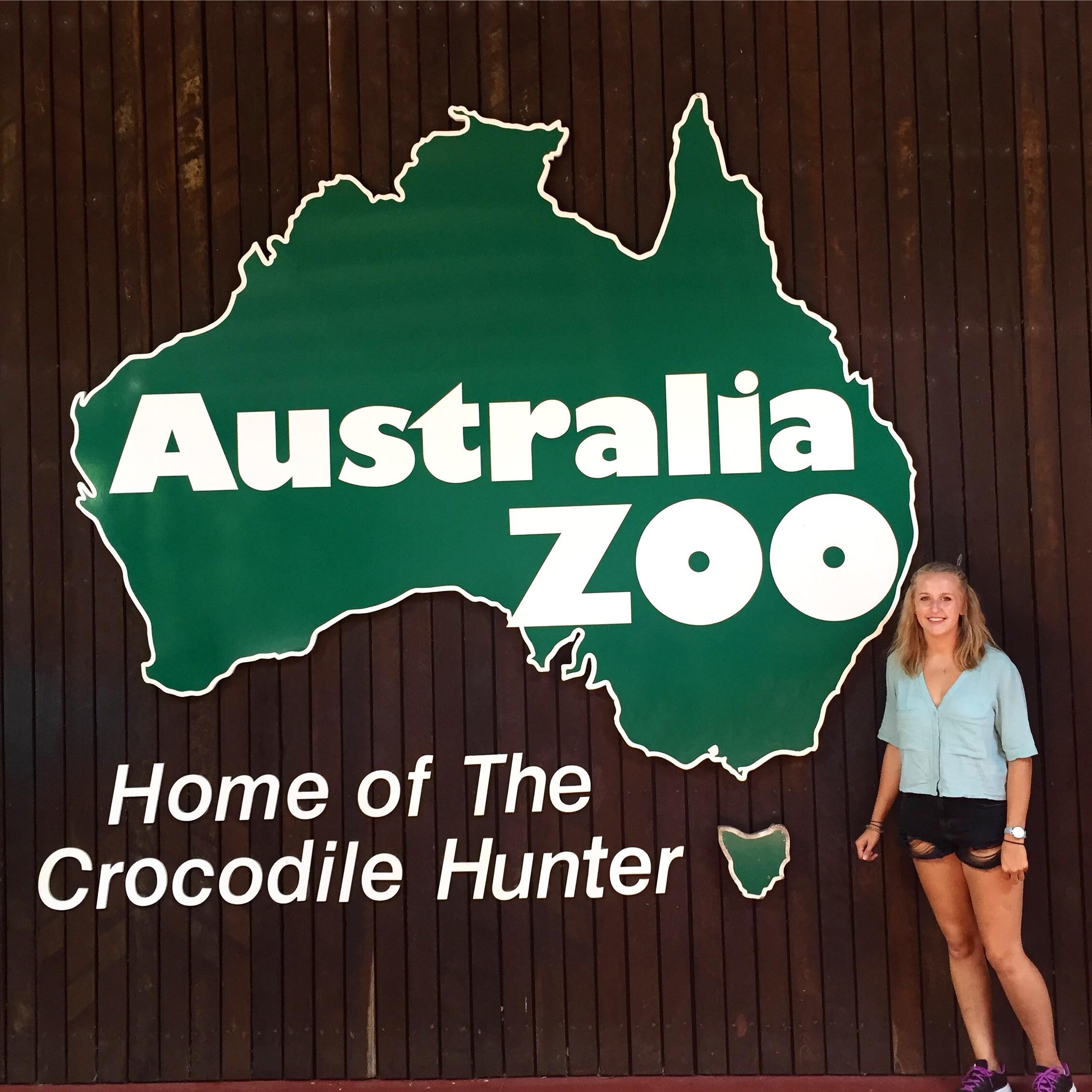 The Australia Steve Irwin Zoo Exploring Imogen